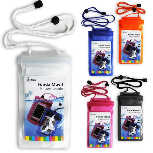 Funda impermeable para movil 21,2x11cm stds