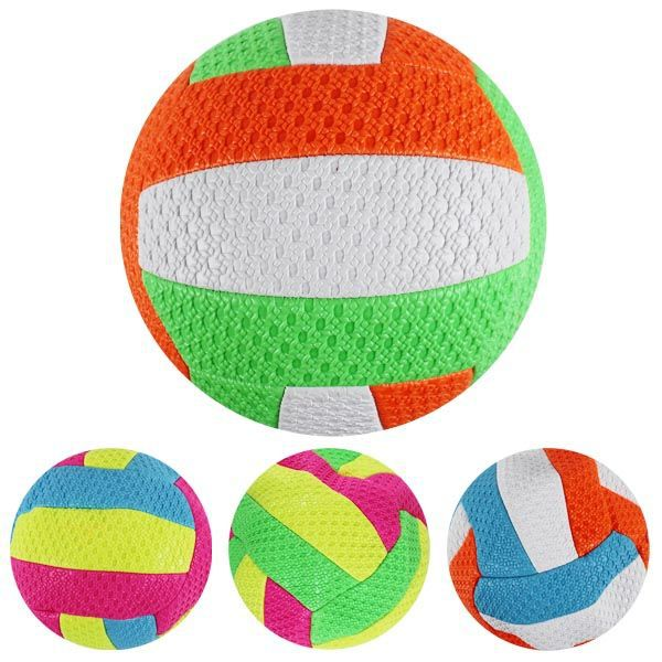 Balon voley playa colores fluor
